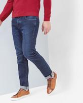 Straight Fit Dark Wash Jeans