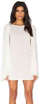 Blq Basiq Cape Dress