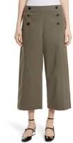 Kate Spade Women's Crop Military Pants