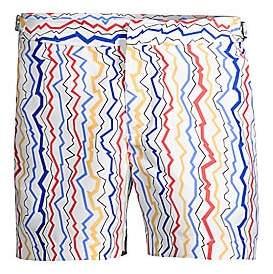 Orlebar Brown Men's Setter Lightening Stripe Swim Trunks