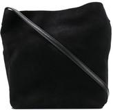 Ann Demeulemeester Button-Up Messenger Bag