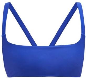 JADE SWIM Revel Square-neck Bikini Top - Womens - Blue