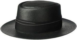 Bailey Of Hollywood Men's Winger Pork Pie Crown Boater Hat