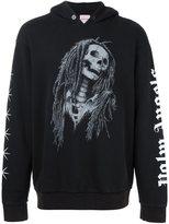 Palm Angels skull print hoodie