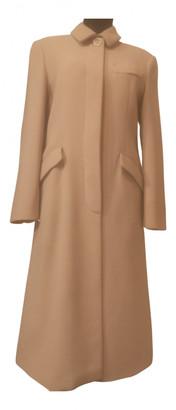 Sportmax Beige Wool Coats