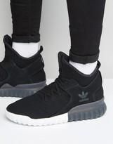 adidas Tubular X Primeknit Sneakers In Black S80128
