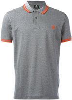 Paul Smith contrast stripe polo shirt