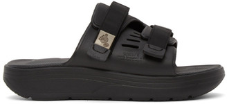 Suicoke Black Urich Sandals