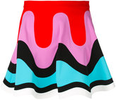 Emilio Pucci colour block mini skirt