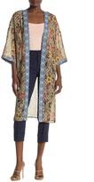 Daniel Rainn Dr2 By 3/4 Length Sleeve Kimono