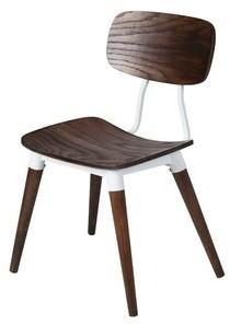 Design Tree Home Copine Inspired Sean Dix Chair in Rustic Walnut