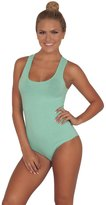 Hot From Hollywood Ballerina Inspired Body Fitted Sleeveless Scoop Neck Juniors One Piece Leotard