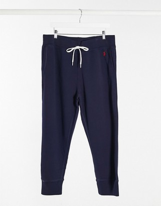 Polo Ralph Lauren joggers with cuff ankles in navy