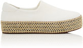 Opening Ceremony Women's Cici Twill Platform Sneakers-White