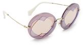 Miu Miu Hearts Round Sunglasses