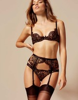 Agent Provocateur Giovanna Brief Black and Gold