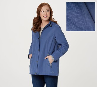 Nuage Invisiprint Waterproof Jacket with Hood