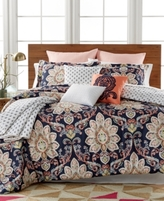 enVogue CLOSEOUT! Milan 10-Pc. Reversible Comforter Sets, Created for Macy's