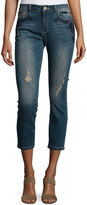 Nanette Nanette Lepore Embellished Cropped Jeans, Siagon