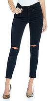 James Jeans Twiggy Frayed Hem Ankle Skinny Jeans