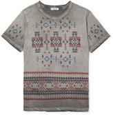 Valentino - Slim-fit Printed Cotton-jersey T-shirt