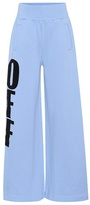 Off-White Off Big cotton-jersey trousers