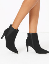 Marks and Spencer Stiletto Heel Chelsea Ankle Boots