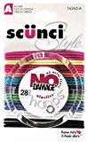 Scunci 1626503a048 No Damage® Hair Elastics Assorted Colors 28 Count