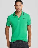Fred Perry Tipped Logo Polo - Regular Fit