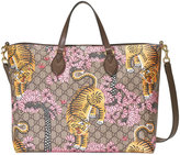 Gucci Bengal soft GG tote - women - Leather/Canvas/Microfibre - One Size