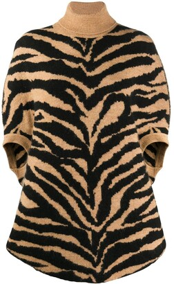 MM6 MAISON MARGIELA Tiger Knit Oversized Jumper