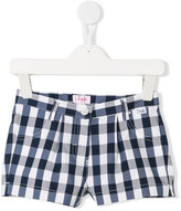 Il Gufo checkered shorts - kids - Cotton/Polyamide/Spandex/Elastane - 3 yrs
