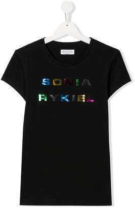 Sonia Rykiel TEEN crew-neck logo T-shirt