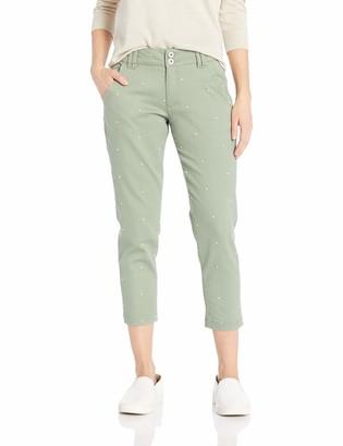 Jag Jeans Women's Petite Flora Chino Crop