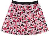 Kate Spade Girls' Pleated Floral Skirt