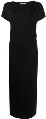 Dusan Short-Sleeve Midi Dress