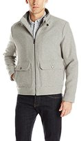 Kenneth Cole New York Men's Wool Blend Bomber