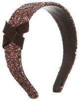 Miu Miu Glitter Bow Headband