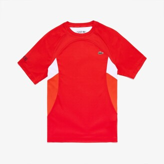 Lacoste Mens SPORT Colorblock Ultra Dry Performance T-shirt