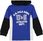 U.S. Polo Assn. Cobalt Blue 'US Athletic Dept.' Hoodie - Boys
