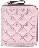 Valentino Garavani Rockstud Spike compact wallet