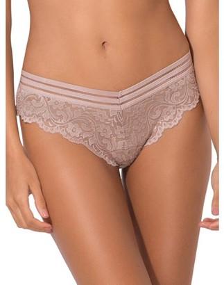 Smart & Sexy Women's signature lace bikini panty, 2-pack