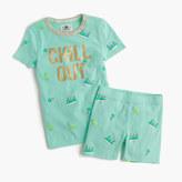 J.Crew Girls' short-sleeve pajama set in sweet treats