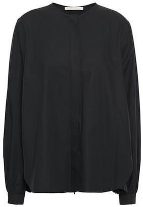 Antonio Berardi Cotton-poplin Peplum Shirt
