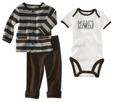 Carter's Just One You made by Newborn Boys' 3-pc. Sleep Set - Brown