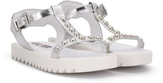 Cesare Paciotti 4us Kids Studded Open-Toe Sandals