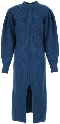 Isabel Marant Front Slit Knitted Dress