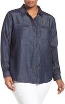 Tart Andy Denim Shirt (Plus Size)