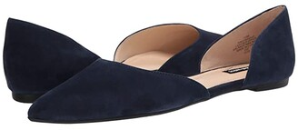 Nine West Starship Flat (French Navy) Women's Shoes