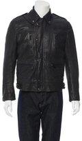 Burberry Leather Moto Jacket